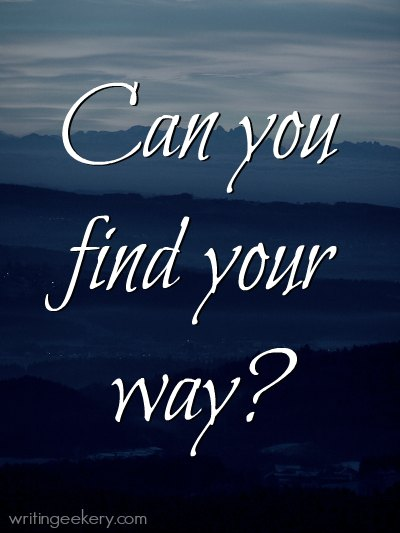 Can you find your way?