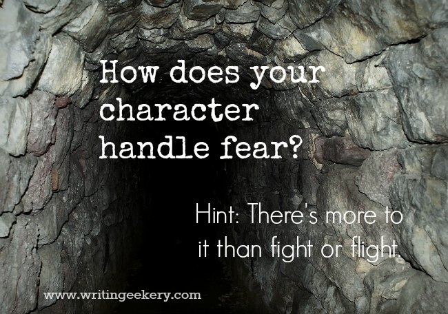 How does your character handle fear?