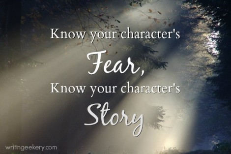 What does your character fear? Do you know how to USE it?