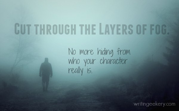 Cut throught the layers of fog.